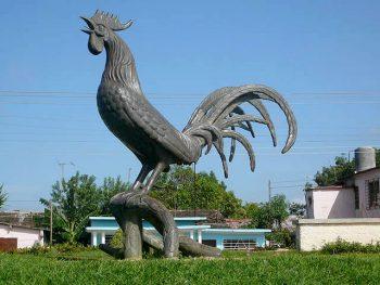 Giardini del Re Il-gallo-simbolo-della-cittadina-di-Moron