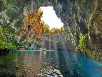 Cefalonia Melissani-Cave-Pilgrimage