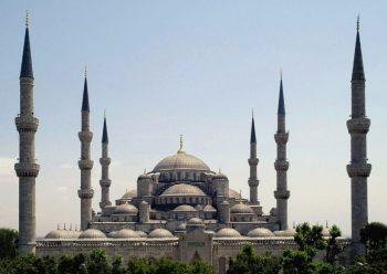 Turchia Moschea-Blu