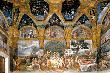 Mantova Palazzo Te Sala Amore e Psiche