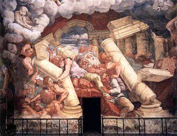 Mantova Sala dei giganti foto di G. Romano