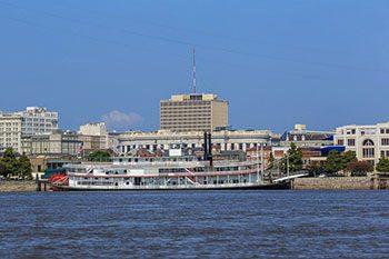Louisiana Il fiume Mississipi
