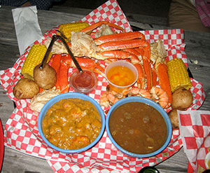 Louisiana La cucina cajun