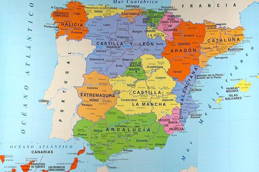 Cartina Spagna Galizia.Galizia L Altra Spagna