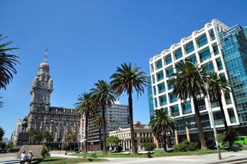 Montevideo piazza Indipendenza