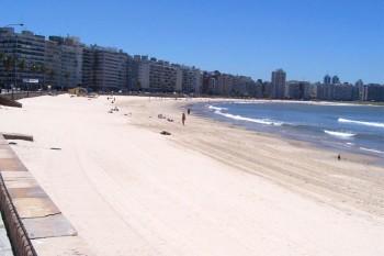 Montevideo spiaggia