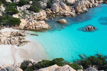 spiagge più belle della Sardegna cala_coticcio sardinia-Isola-di-Caprera