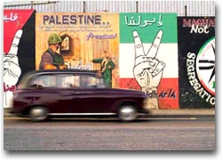 murales Murales sulla Falls road, nel quartiere cattolico di Belfast