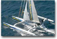 Castorama B&Q. Skipper: Ellen MacArthur, Sydney 2003
