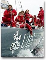 """barca L'equipaggio """"in rosa"""" della Volvo Ocean Race del 2001"""