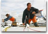 barca Karine Fauconnier e Damian Foxall