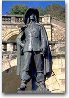 Armagnac D'Artagnan nella città di Auch