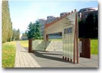 Ingresso al MAAM, Museo a cielo aperto di Architettura Moderna