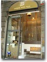 L'ingresso in viale Abruzzi