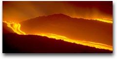 Colata lavica nell'eruzione del 1993