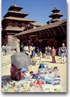 KatmanduUn mercato a Katmandu
