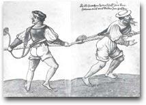 Marinai al lavoro, illustrazione del XVI sec.