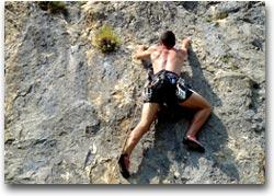 Luogo ideale per le arrampicate