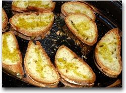 Il pane con l'olio nuovo (Foto:U.Conti)