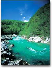 Il fiume Isonzo (Foto: B. Kladnik)