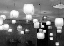 Bruno Munari, Lampada cubica Bali, 1958, Produzione Danese Milano (2003 A) Foto: © Jacqueline Vodoz, 1958