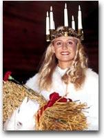 L'incoronazione di Santa Lucia a Skansen