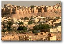 Jaisalmer La città fortificata di Jaisalmer