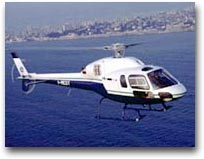 Un'elicottero come navetta