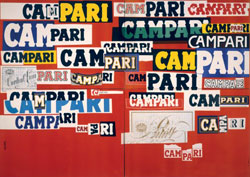Bruno Munari, Manifesto Campari, 1960