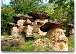 I funghi di pietra di Villar