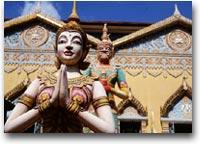 Penang Il tempio buddhista Thai