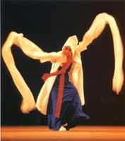 Corea Danzatrice coreana
