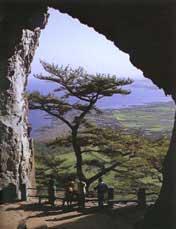 Corea Grotta naturale dell'isola di Cheju