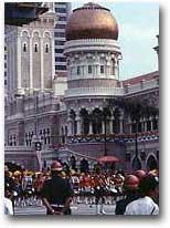 La piazza di Merdeka