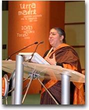 Terra Madre Vandana Shiva