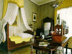 Giuseppe Verdi La camera da letto a Villa Sant'Agata