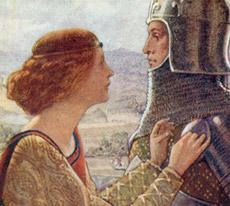 W. Mattews, Illustrazione di copertina di W.E. Sparkes, particolare