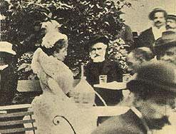 Il compositora a Montecatini nel 1898