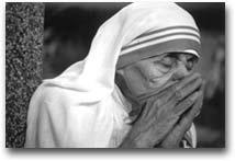 fotografia Madre Teresa