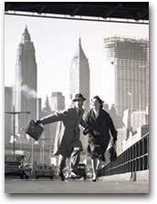 fotografia New York New York, 1955. Foto: Norman Parkinson