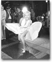 fotografia Marilyn Monroe, 1954. Foto: Sam Shaw