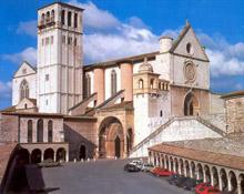 pellegrinaggio Assisi, la Basilca di San Francesco
