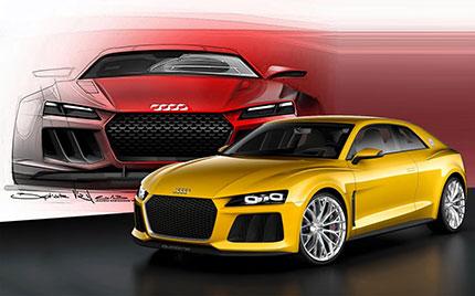 L'Audi Sport Quattro Concept
