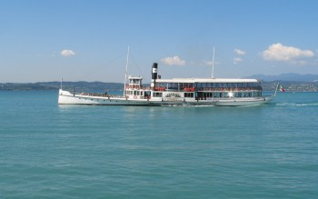Lago di Garda, Battello