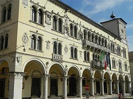 Belluno, sede del Municipio in Piazza dei Martiri