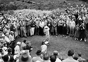 Monterey Ben Hogan a Cypress Point durante il famoso The Match