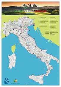I percorsi ciclabili in Italia