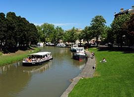 Canal du Midì, piccolo porto fluviale