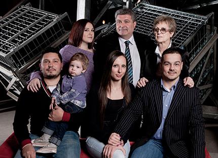 La famiglia Bitta