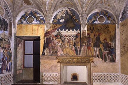 Riaperta a mantova la camera degli sposi mondointasca for Mantova la camera degli sposi